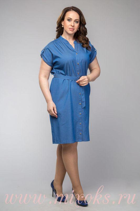 Платье из джинсы